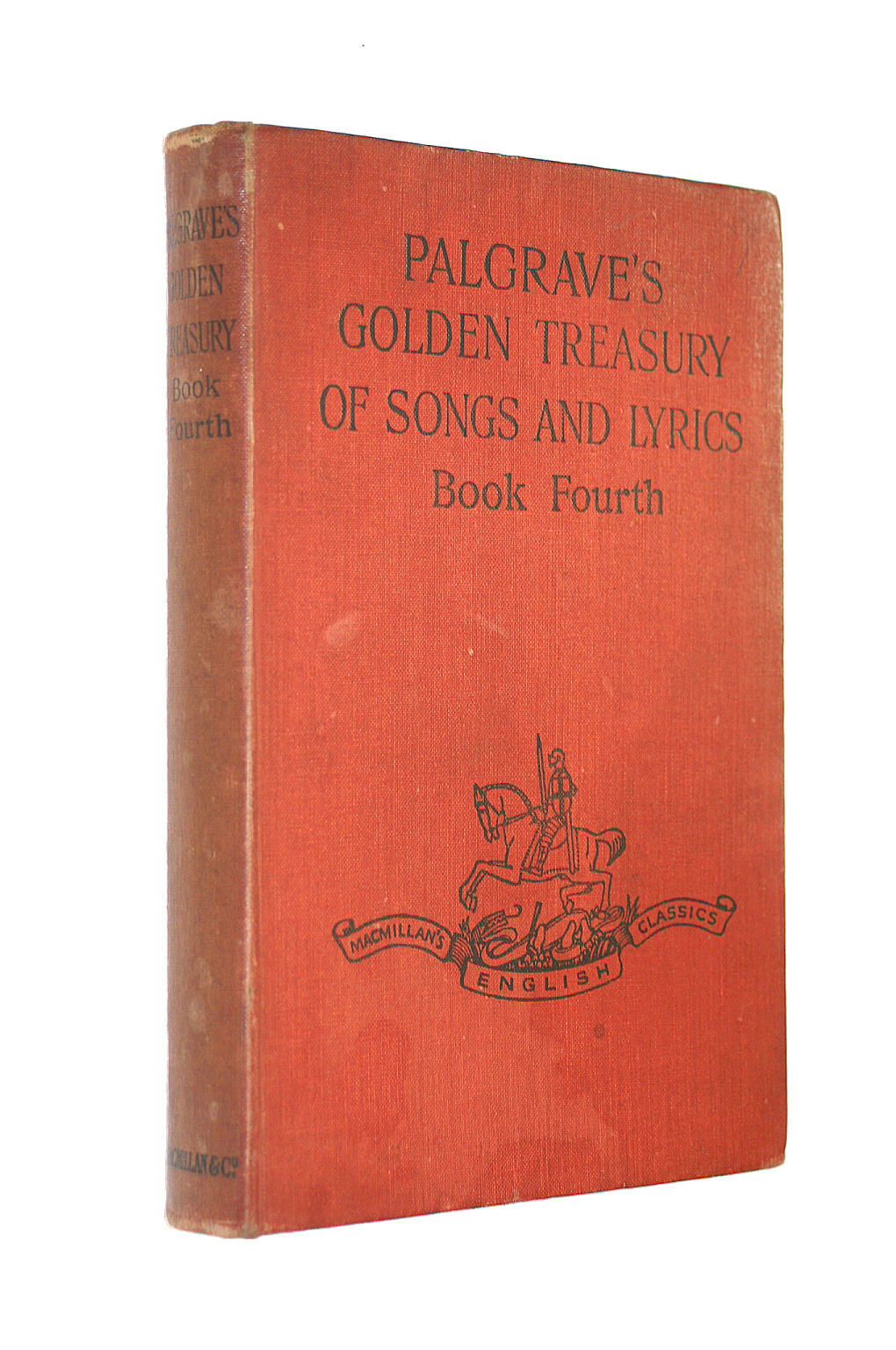 Image for Palgrave's Golden Treasury of Songs and Lyrics Book Fourth