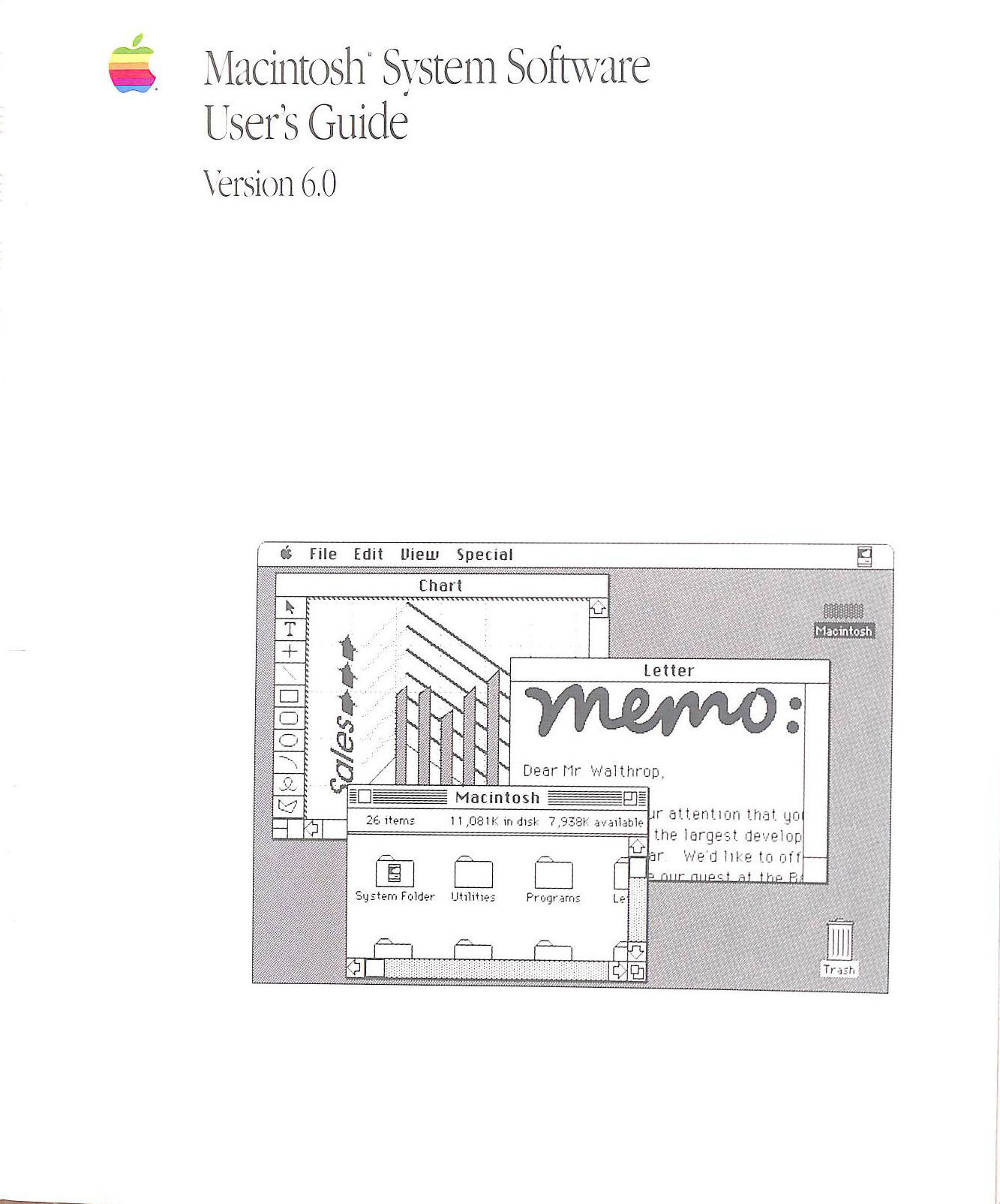 Image for Macintosh System Software User's Guide version 6.0