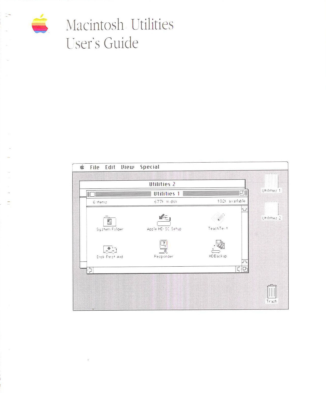 Image for Macintosh Utilities Users Guide
