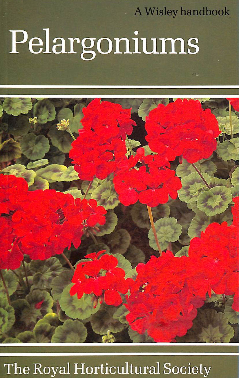 Image for Pelargoniums (A Wisley Handbooks)