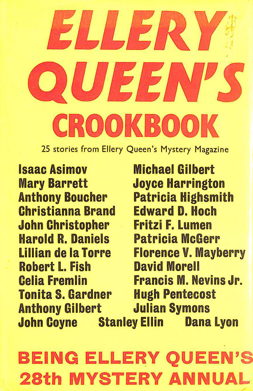 Image for Ellery Queen's Crookbook : 25 Stories from Ellery Queen's Mystery Magazine