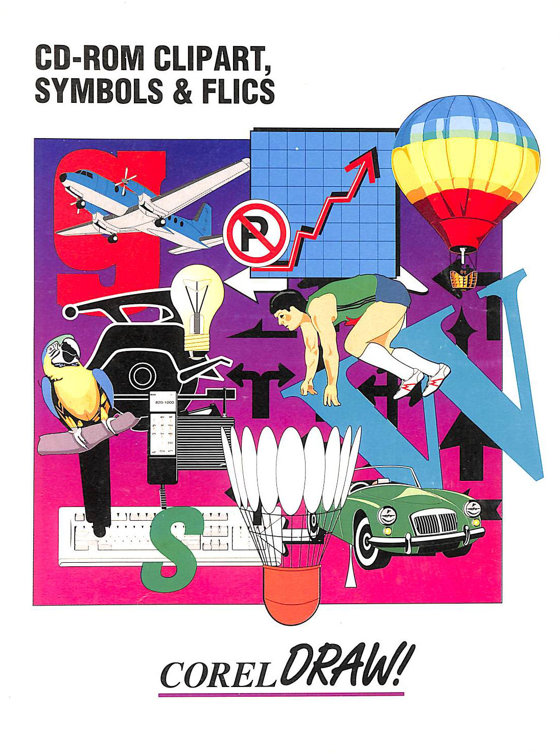 Image for Corel Draw! CD-Rom Clipart, Symbols and Flics