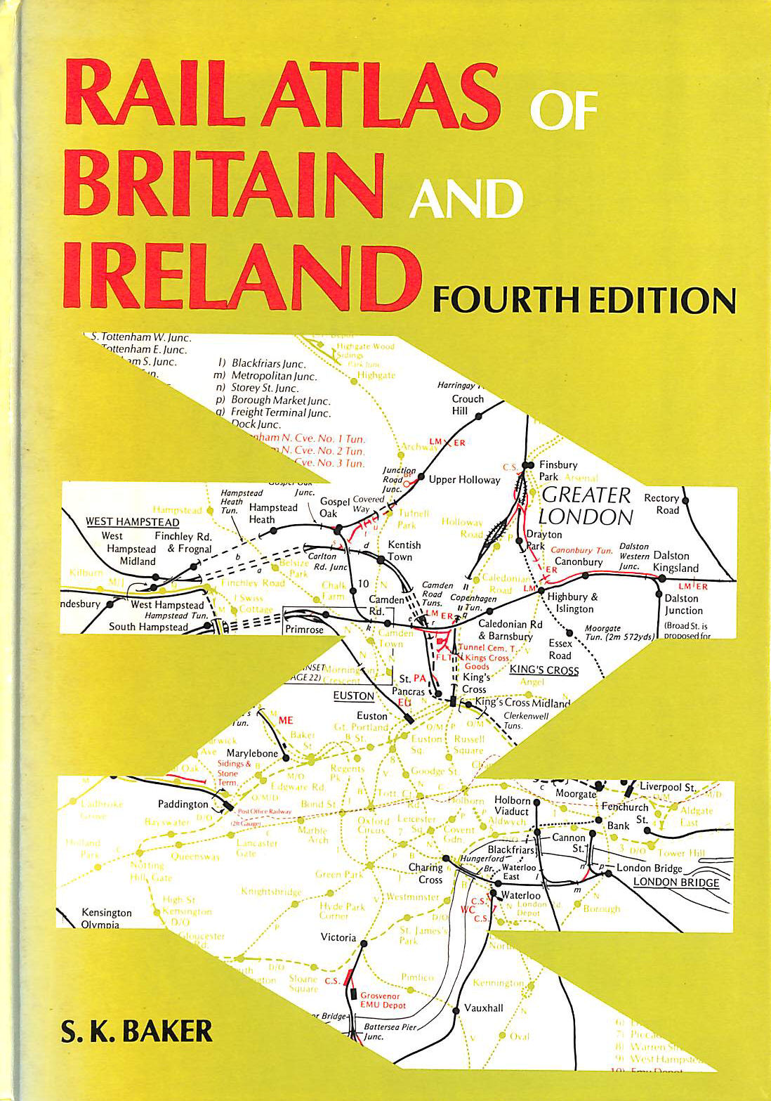 Image for Rail Atlas of Britain and Ireland