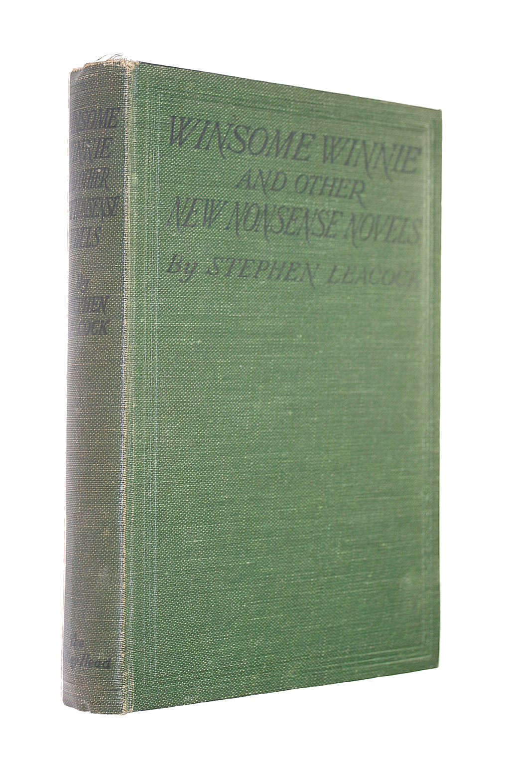 Image for Winsome Winnie, and Other Nonsense Novels