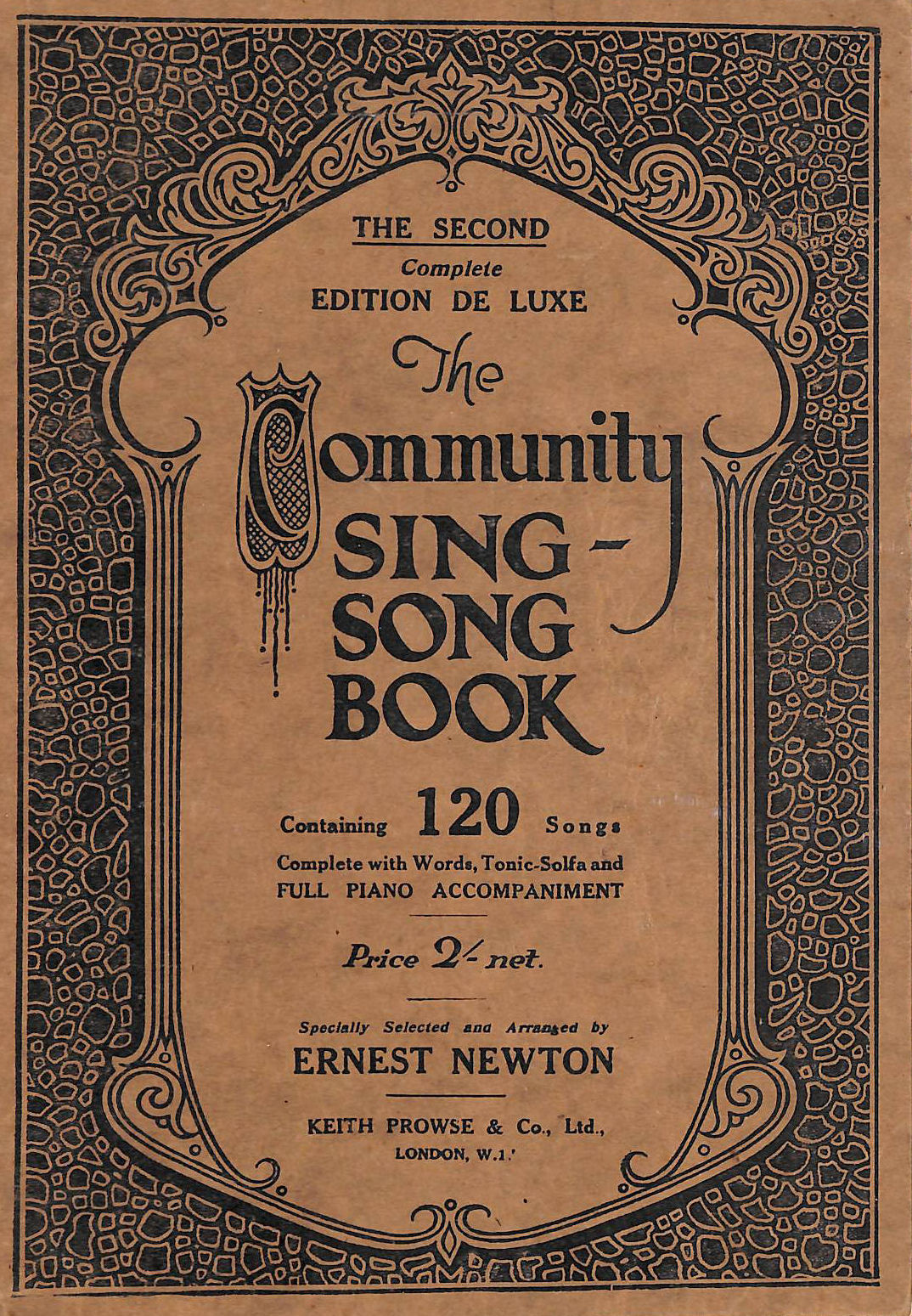 Image for The Community Sing-Song Book: 120 Songs The Second Complete Edition De Luxe