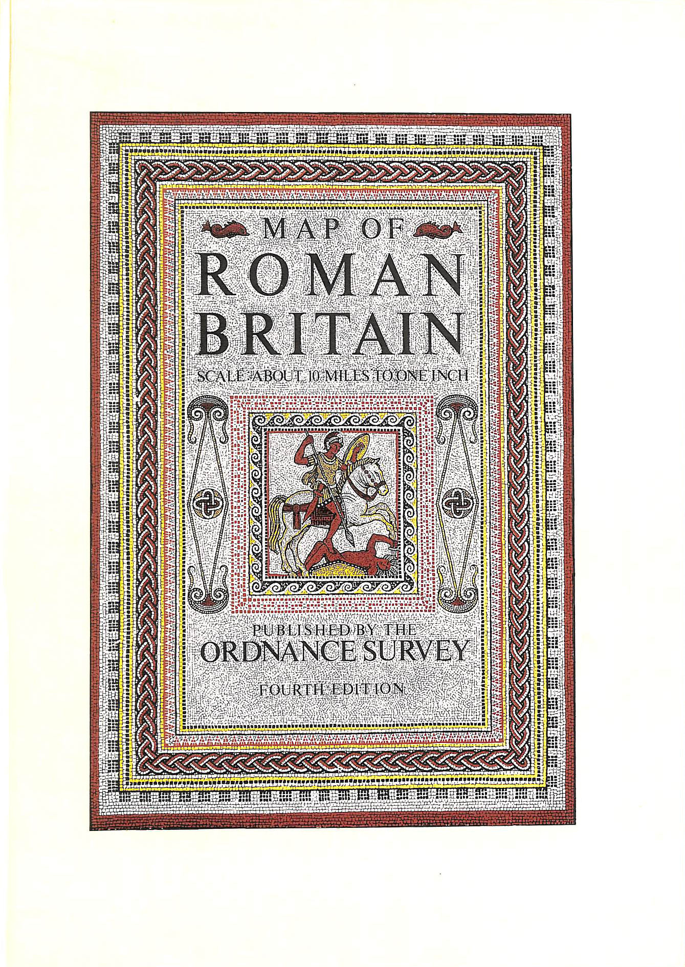Image for Map of Roman Britain