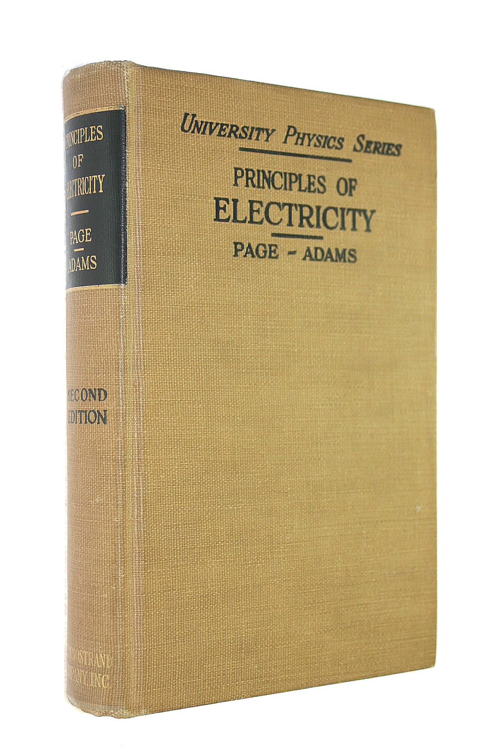 Image for Principles of Electricity an Intermediate Text in Electricity and Magnetism