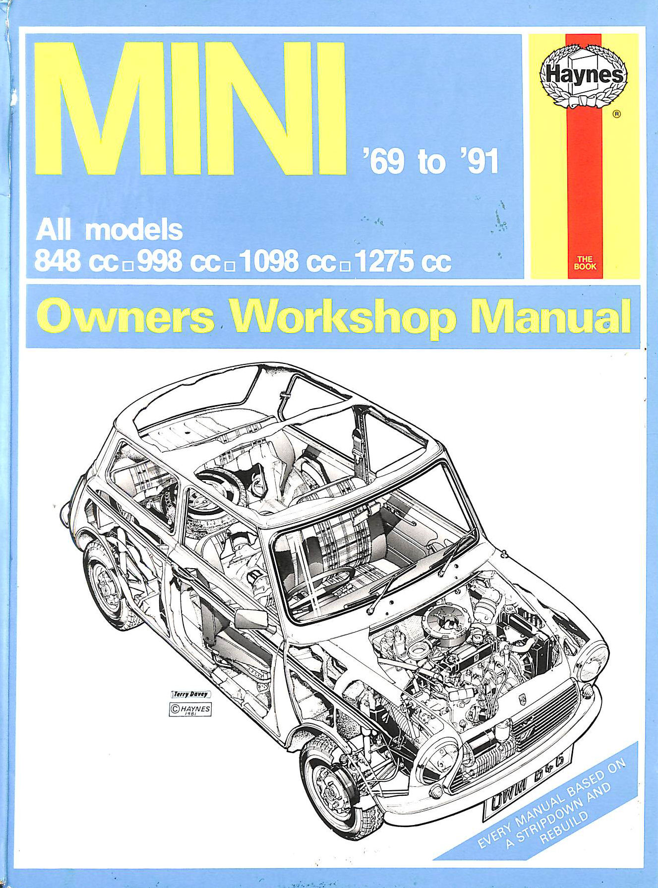 Image for The Mini Owner's Workshop Manual
