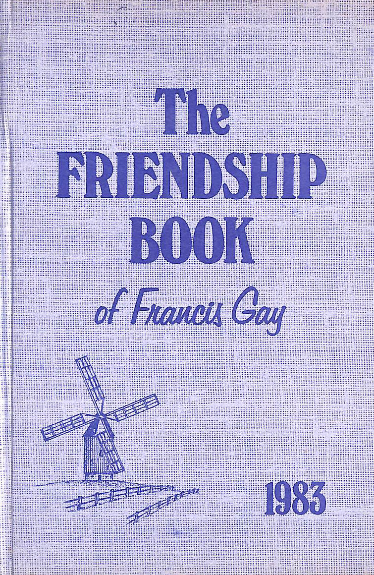 Image for The Friendship Book of Francis Gay 1983 (Annual)
