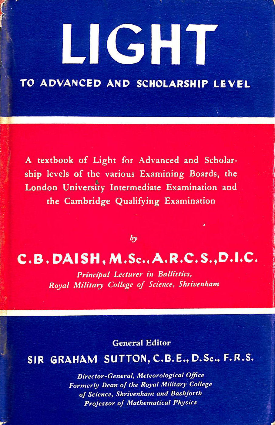 Image for Light - To Advanced and Scholarship Level