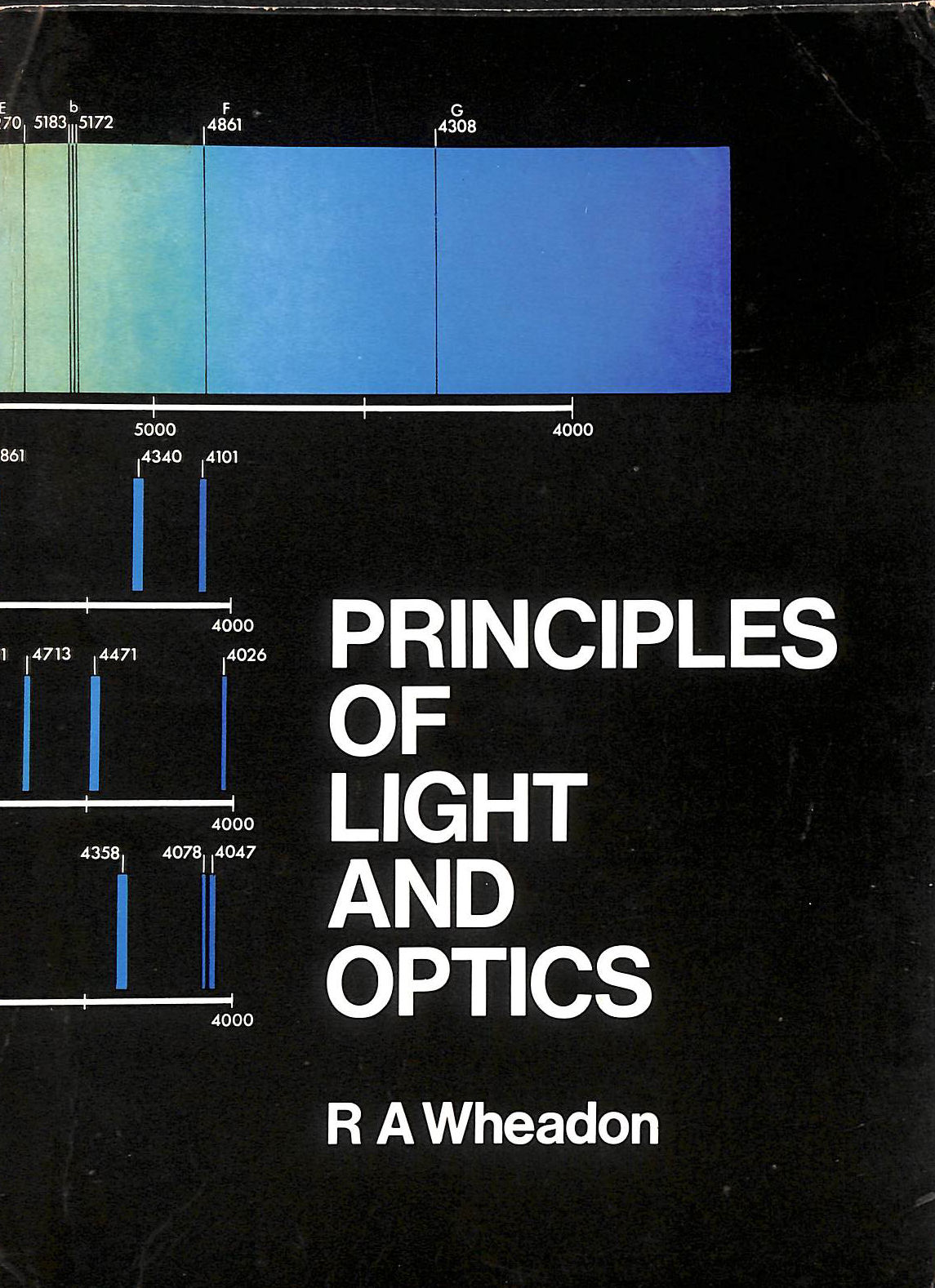 Image for The Principles Of Light And Optics