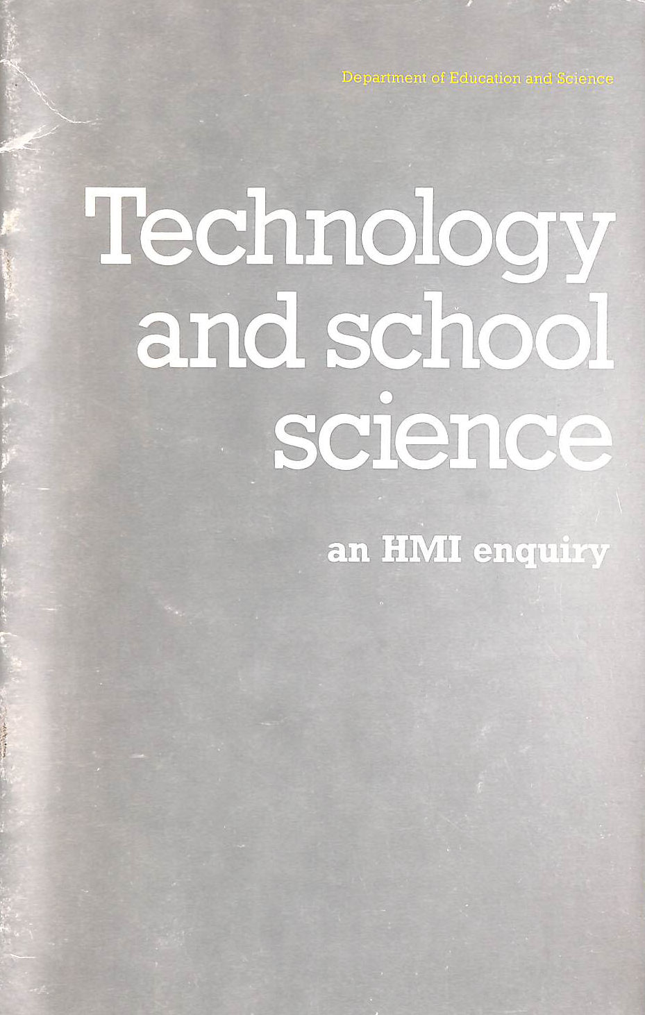 Image for Technology and School Science