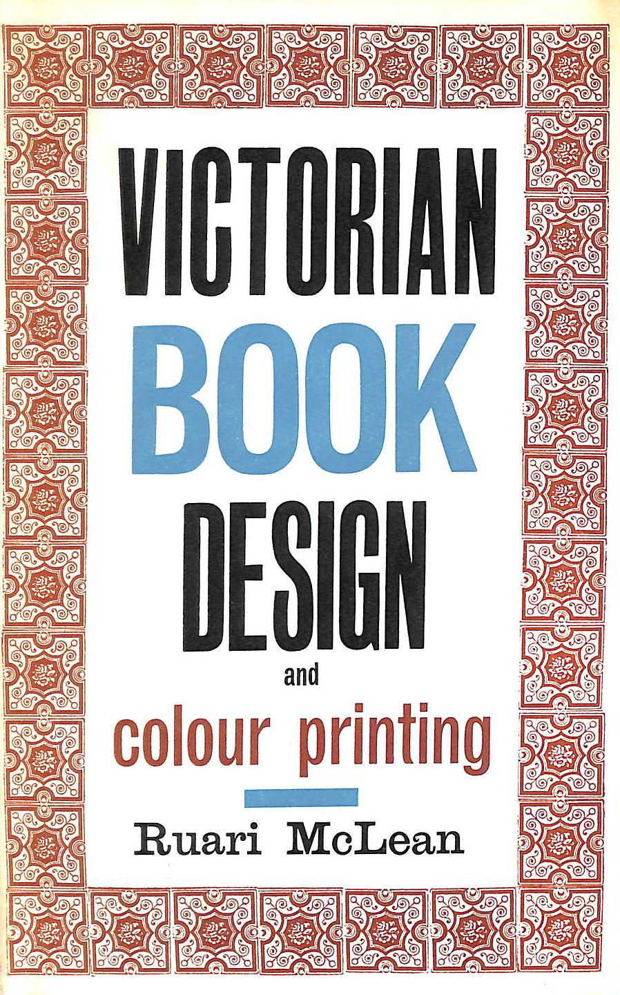 Image for Victorian book design & colour printing