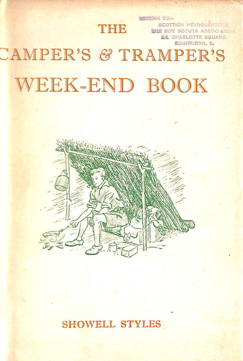 Image for The Camper's And Tramper's Week-End Book,