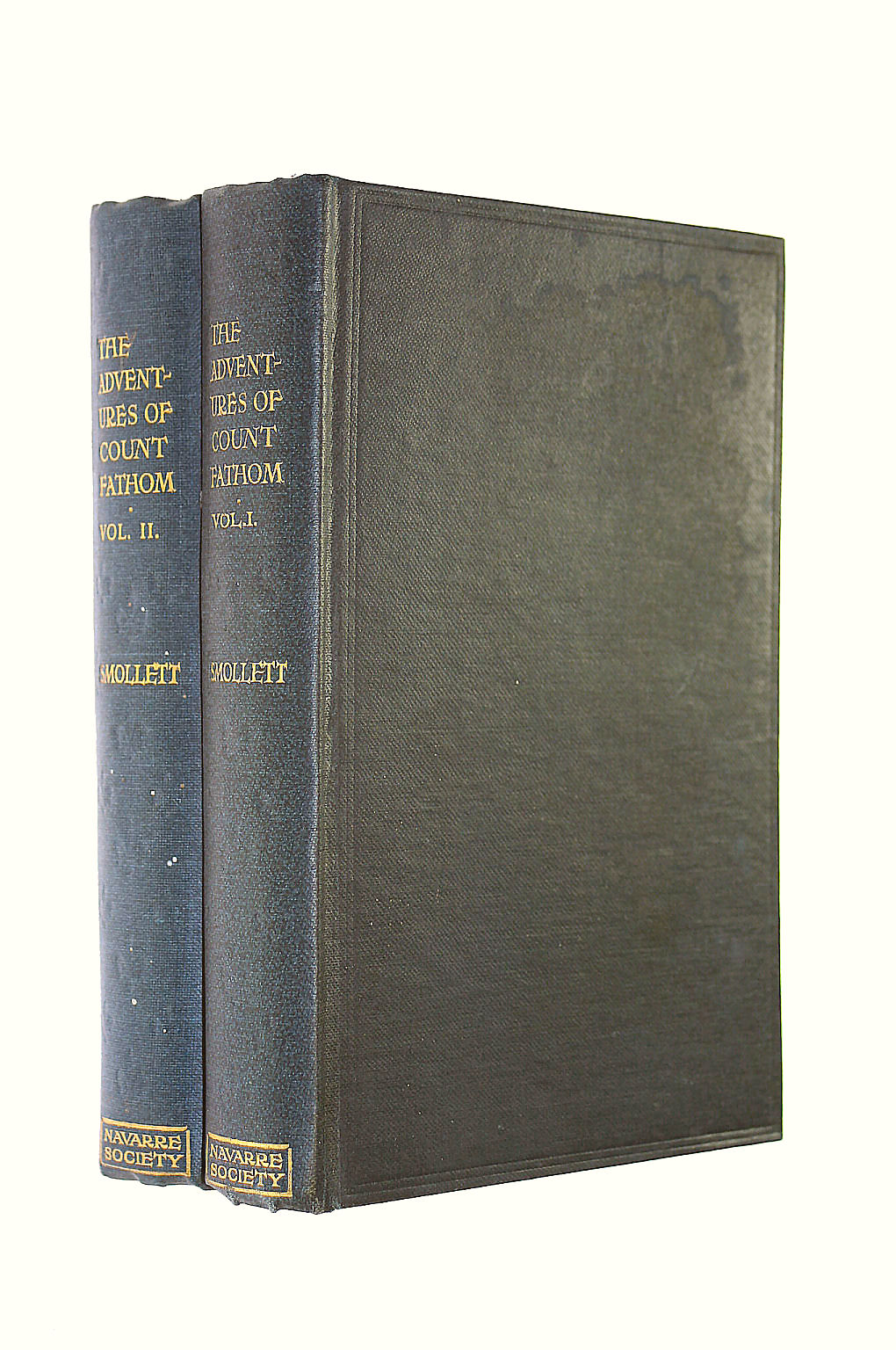 Image for Ferdinand Count Fathom, two volume set