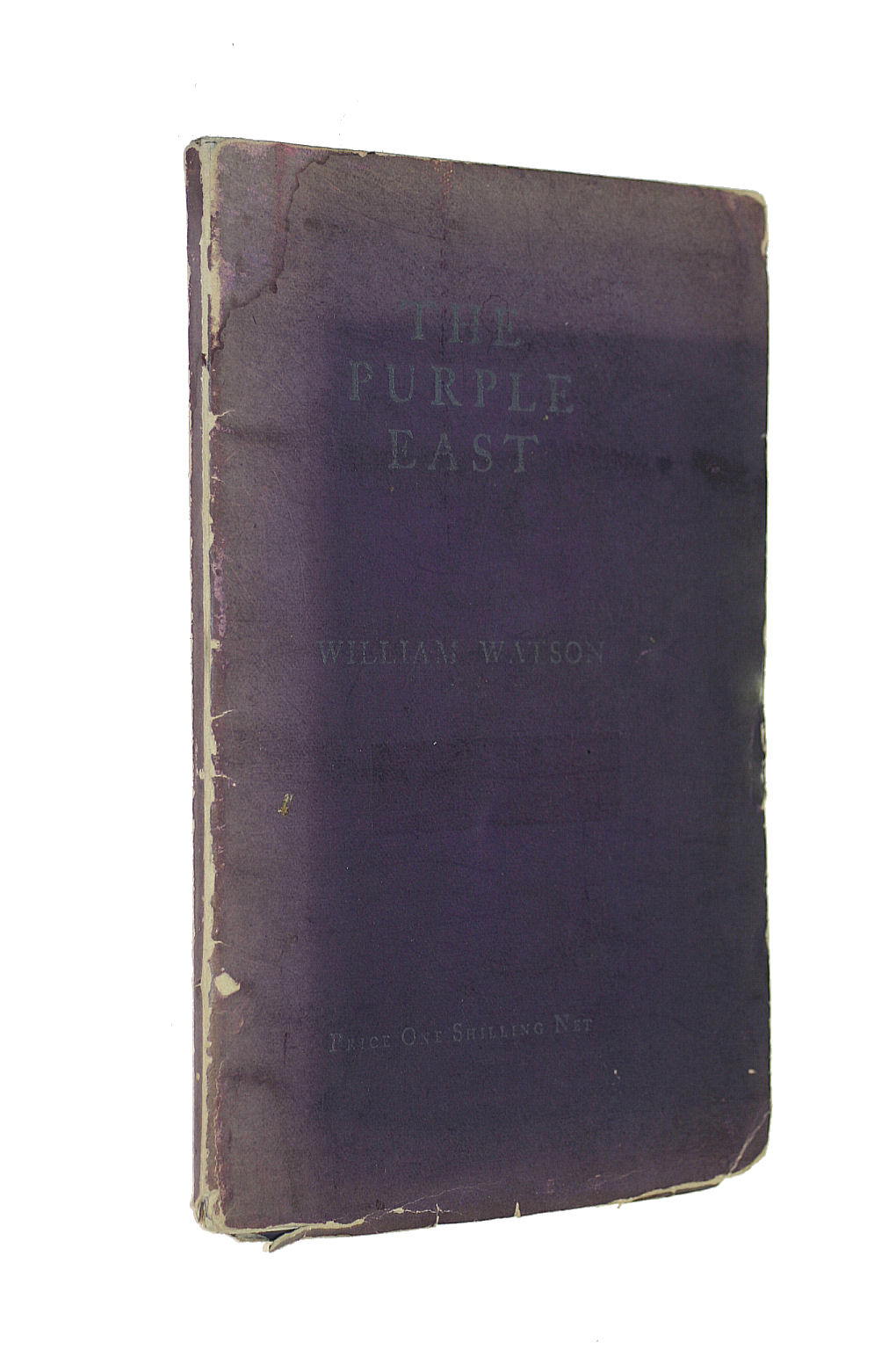 Image for The Purple East : a Series of Sonnets on Englands Desertion of Armenia / by William Watson, with a Frontispiece by G. F. Watts. R. A..