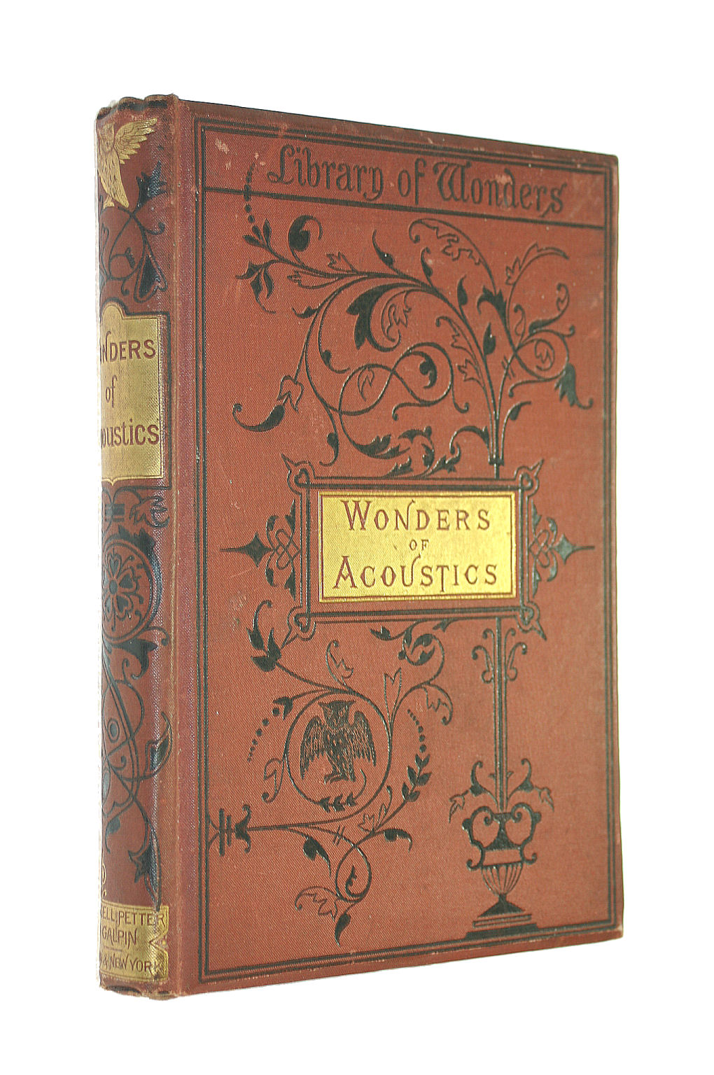 Image for Wonders in Acoustics: Or the Phenomena of Sound From the French...