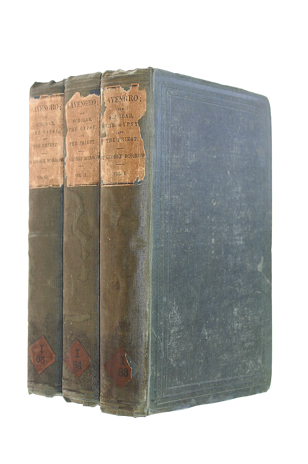 Image for Lavengro ; The Scholar - The Gypsy - The Priest. In Three Volumes.