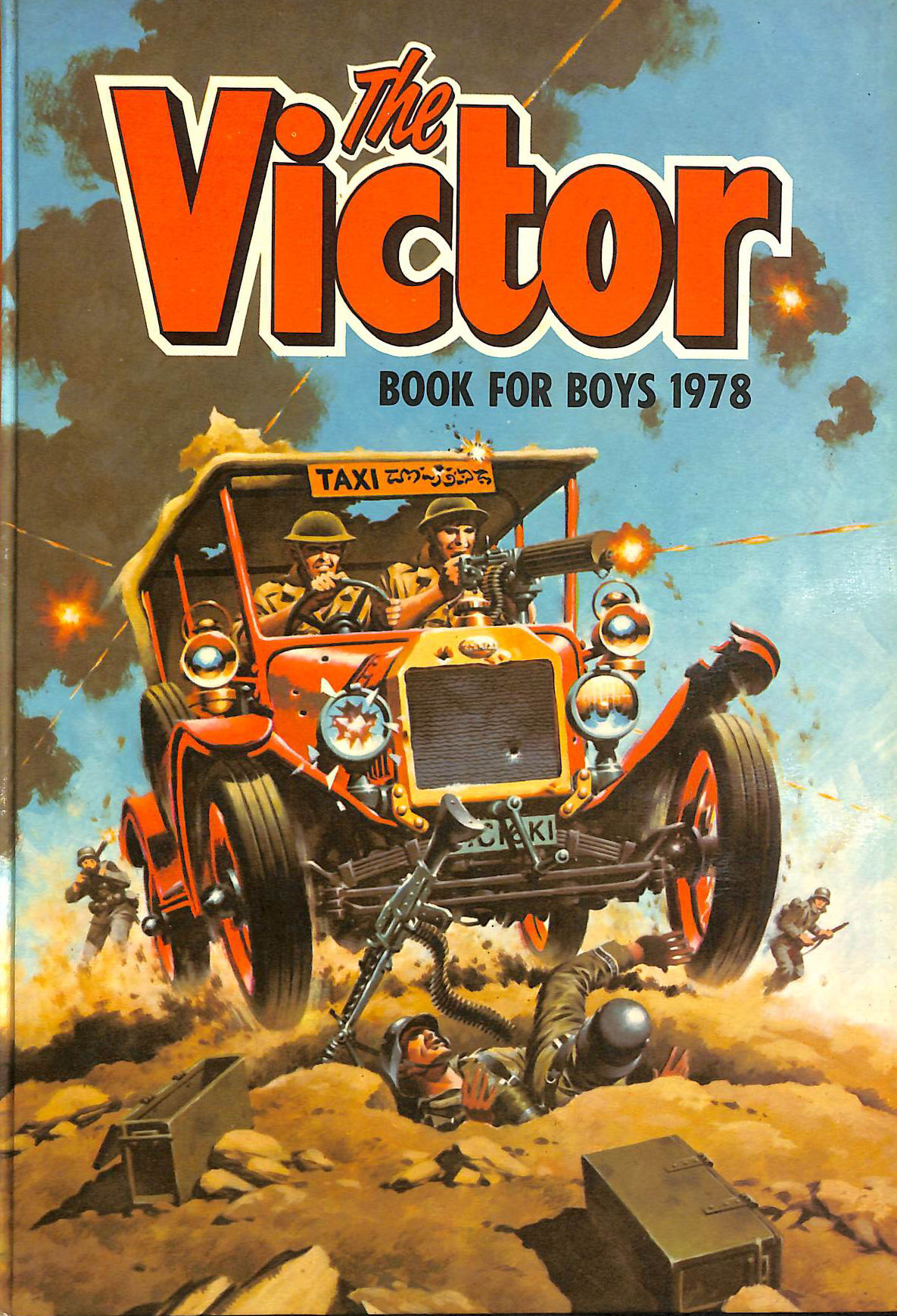 Image for The Victor Book for Boys 1978 (Annual)