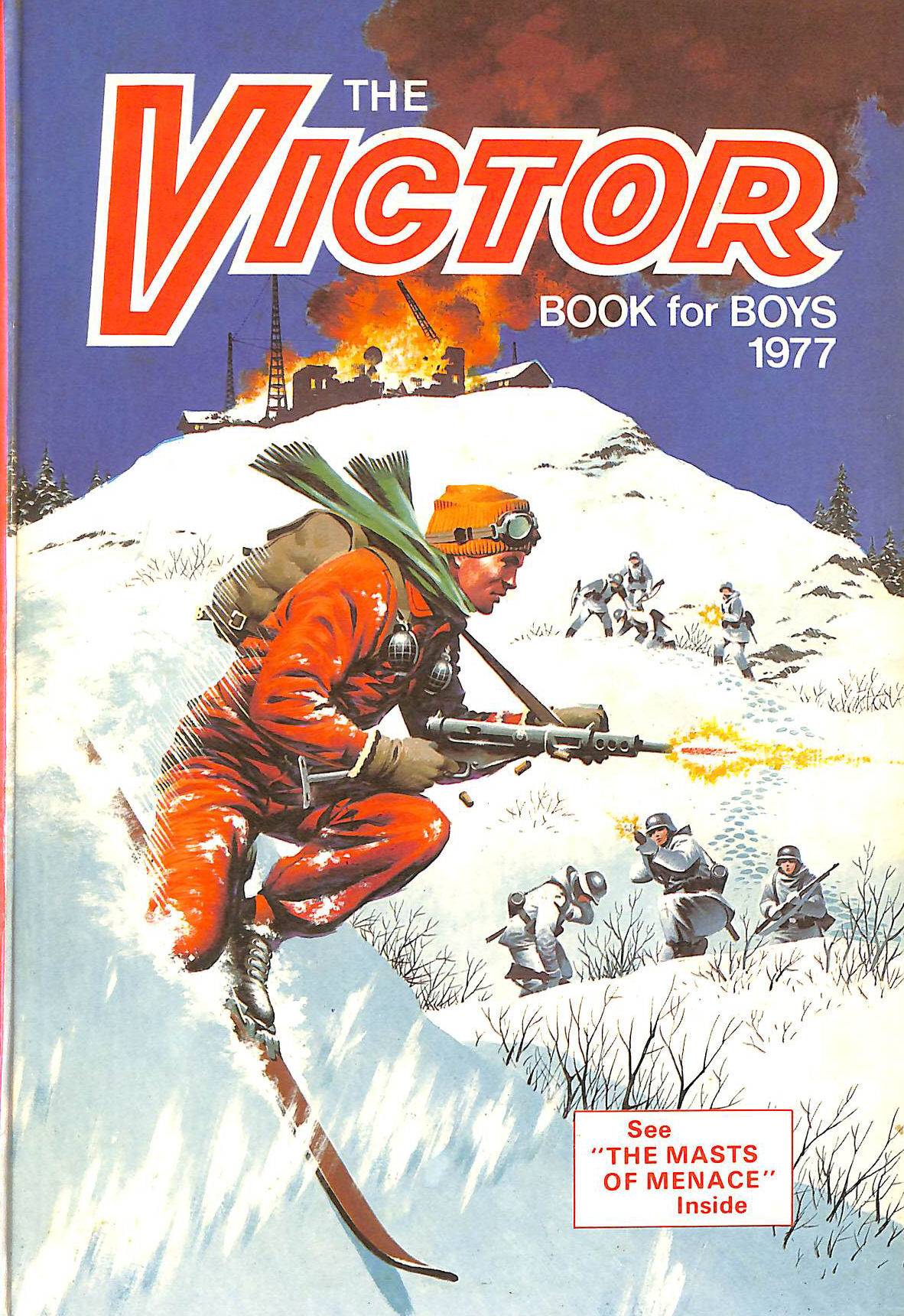 Image for The Victor Book For Boys 1977