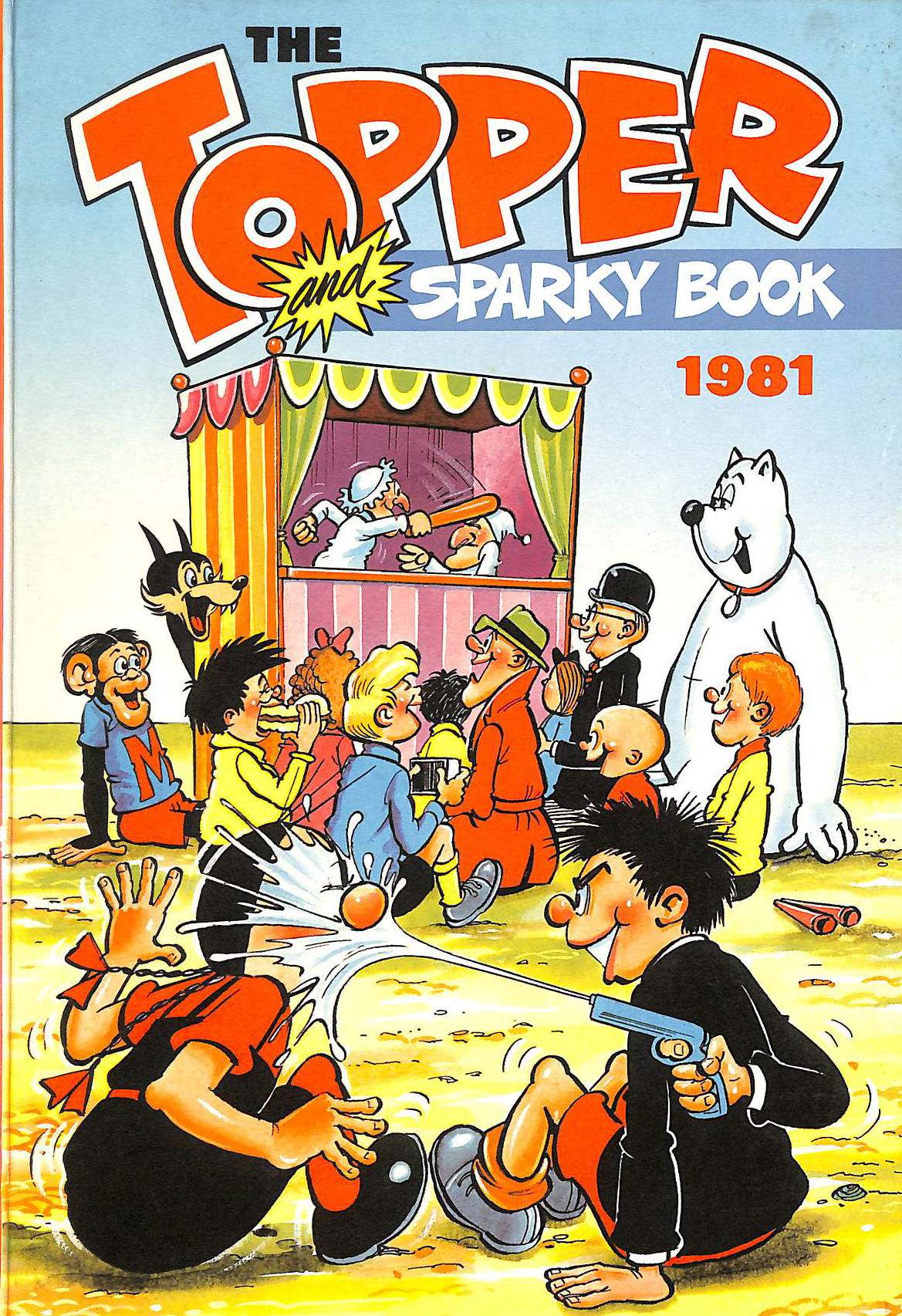 Image for The Topper and Sparky Book 1981