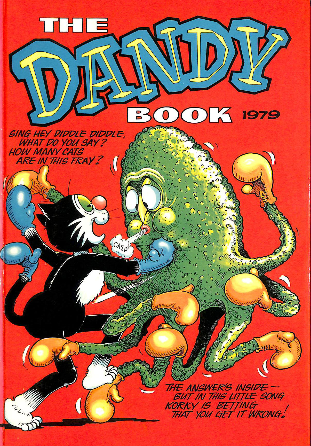 Image for The Dandy Book: Annual 1979