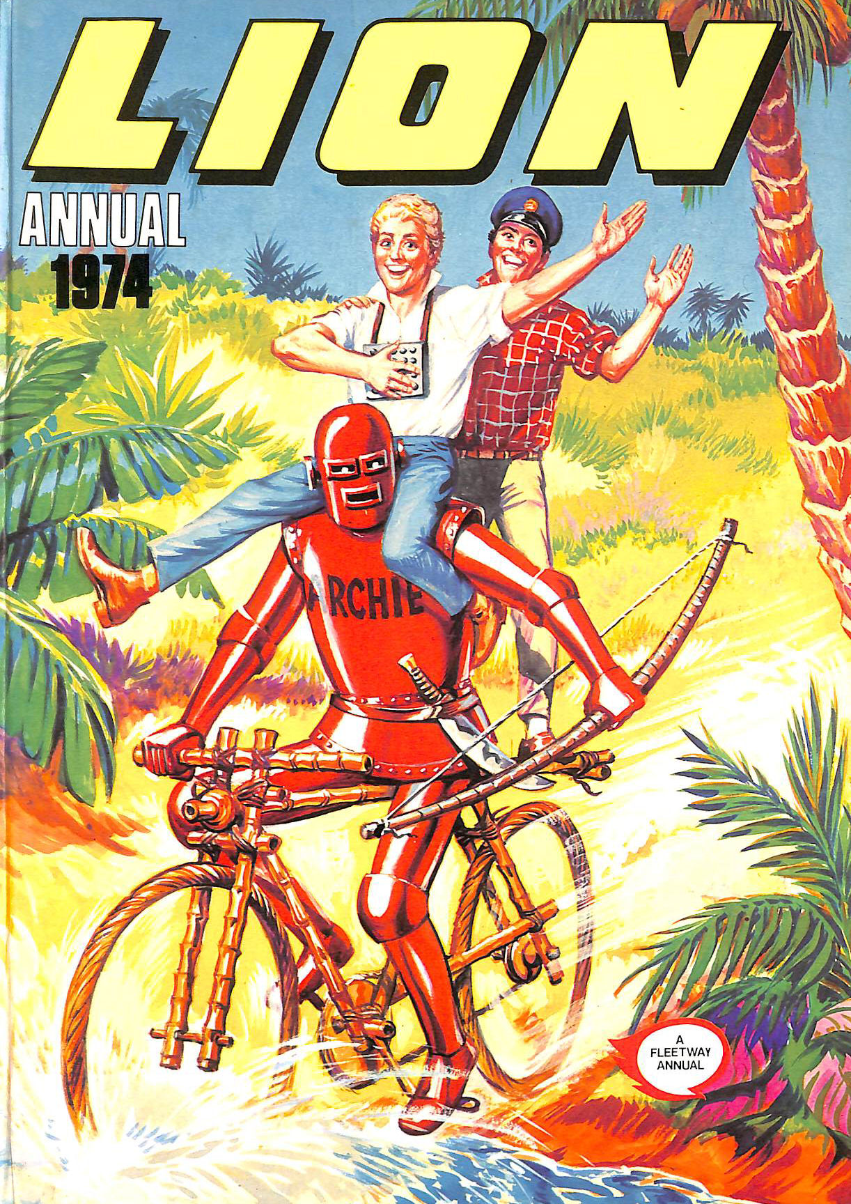 Image for Lion Annual 1974