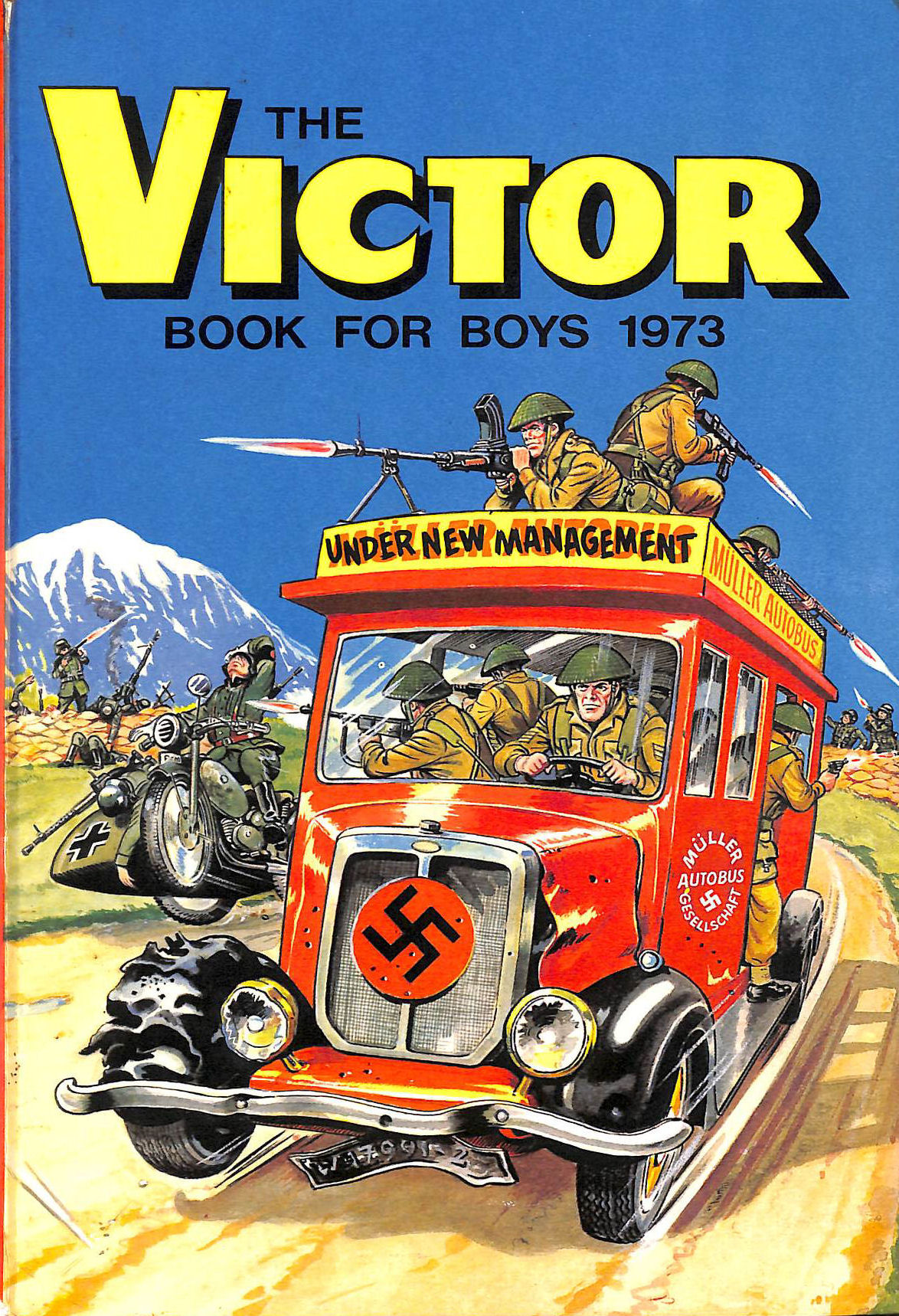 Image for the victor book for boys 1973