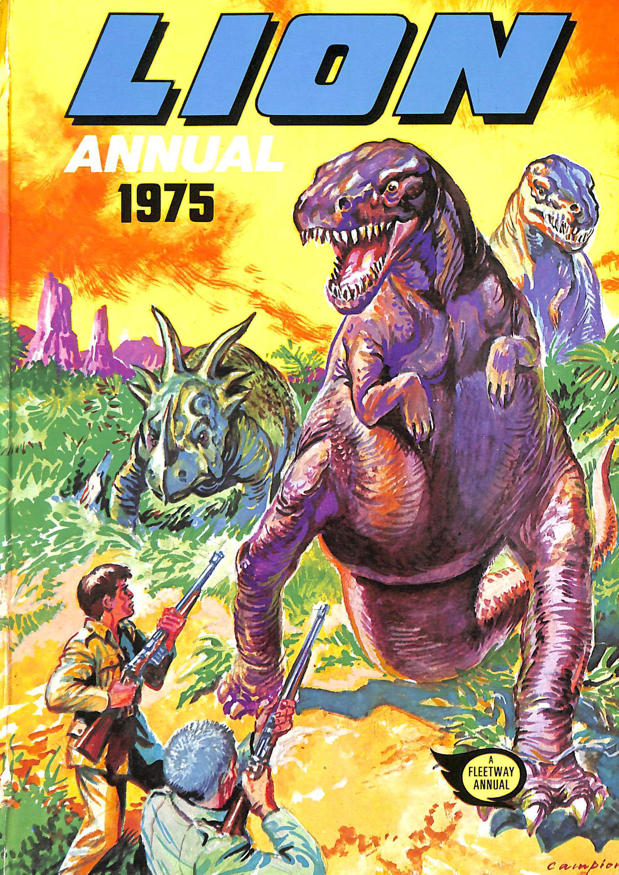 Image for Lion Annual 1975