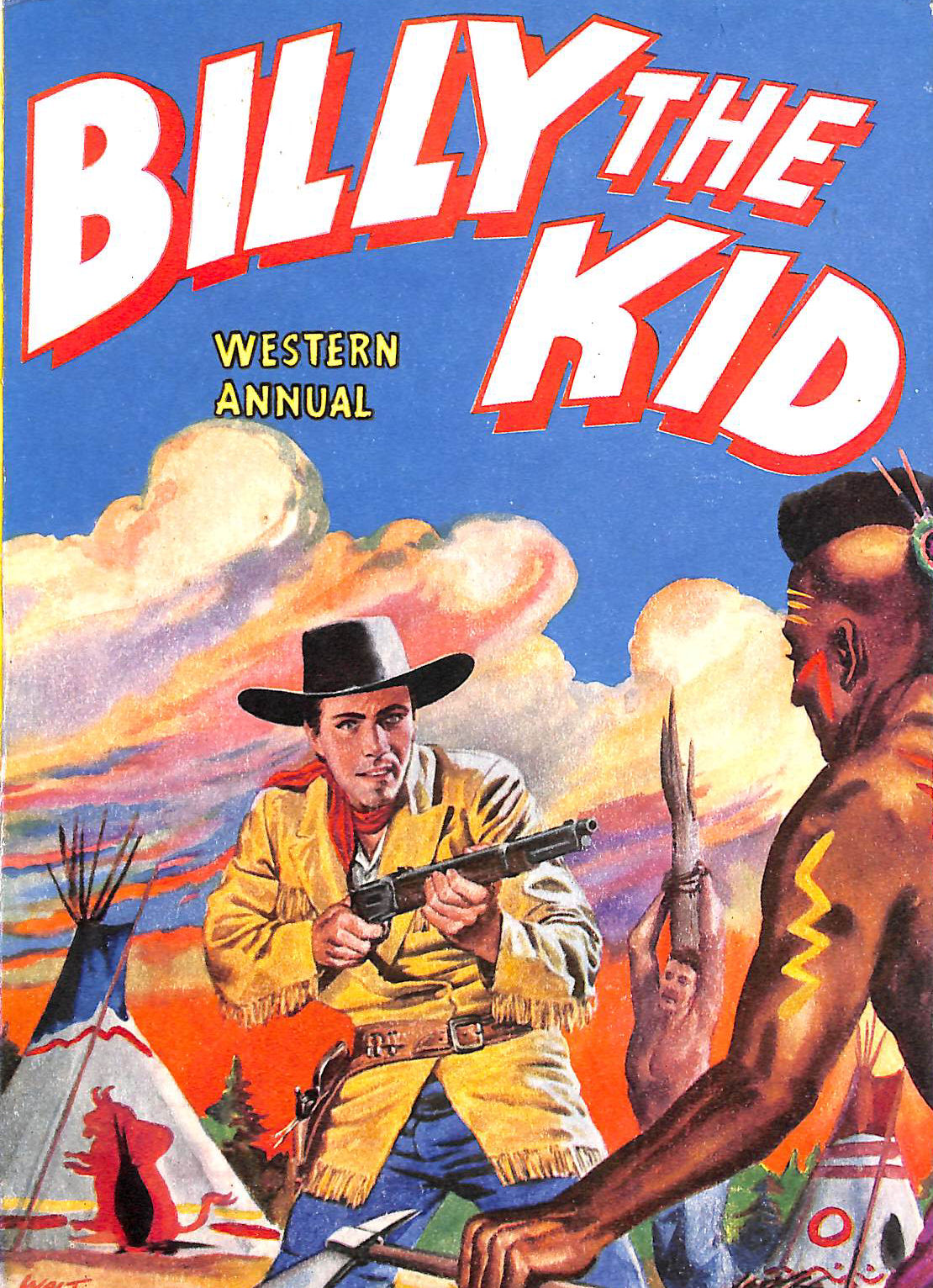 Image for Billy The Kid Western Annual 1956