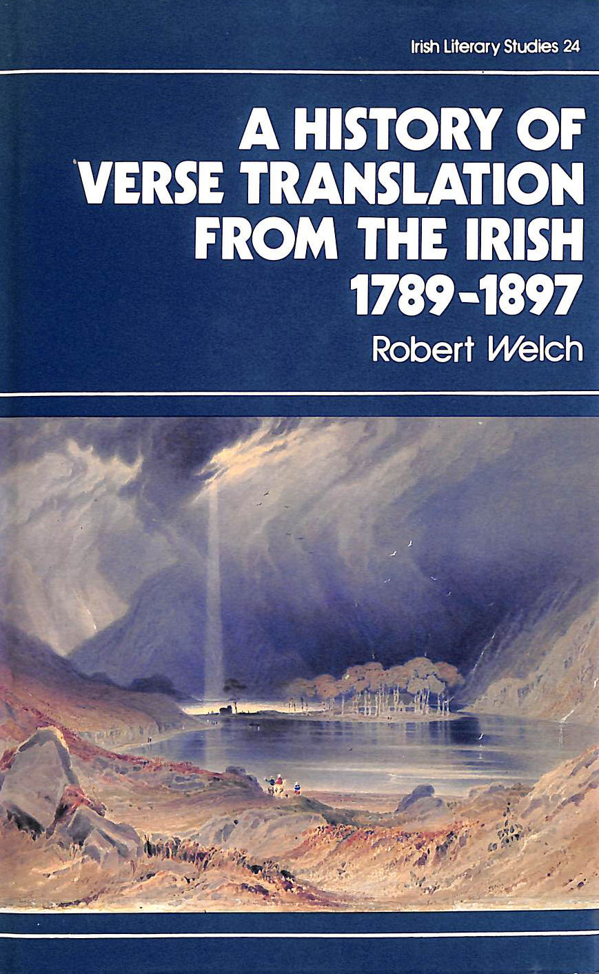 Image for A History of Verse Translation from the Irish, 1789-1897 (Irish Literary Studies)