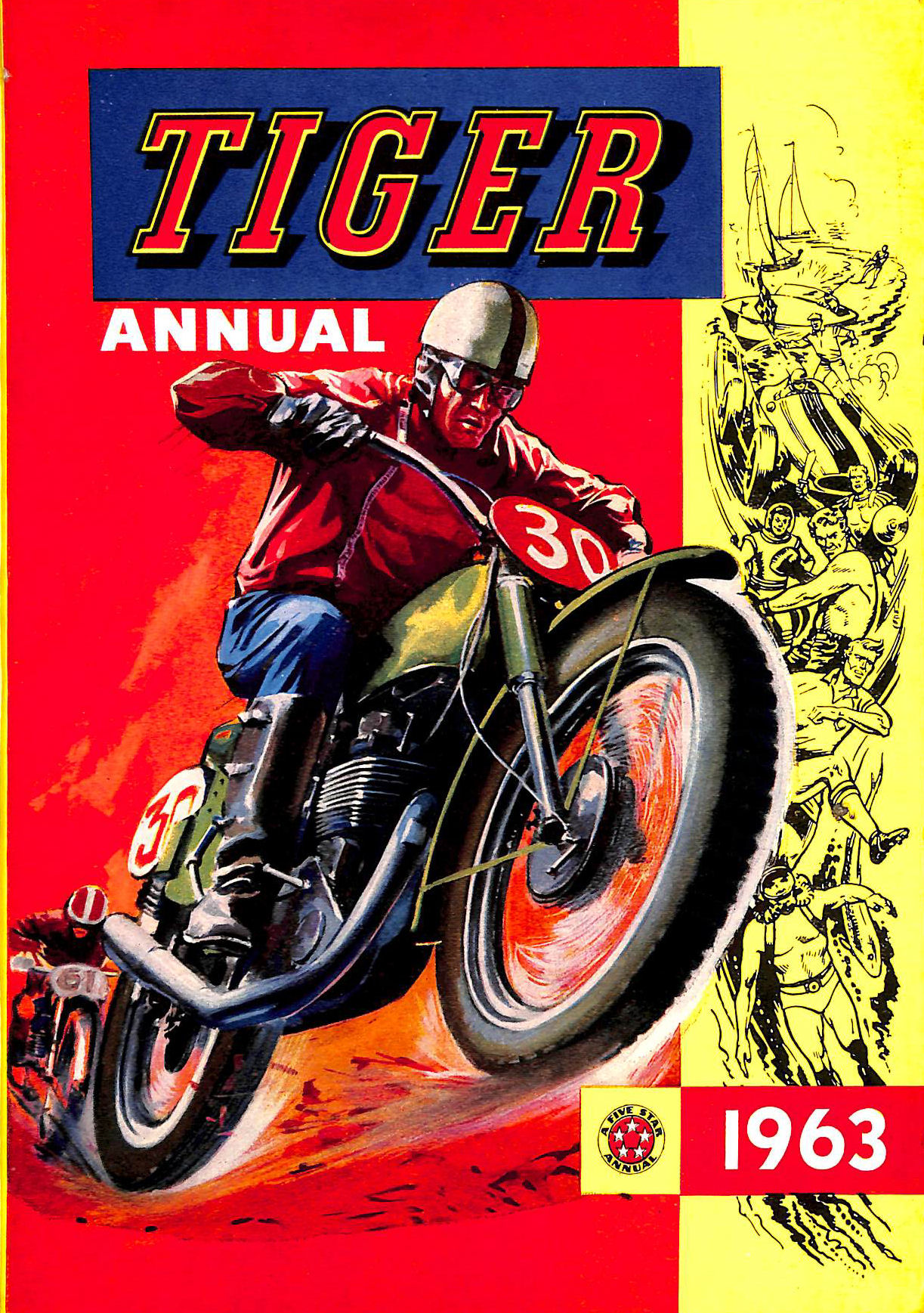 Image for TIGER ANNUAL 1963