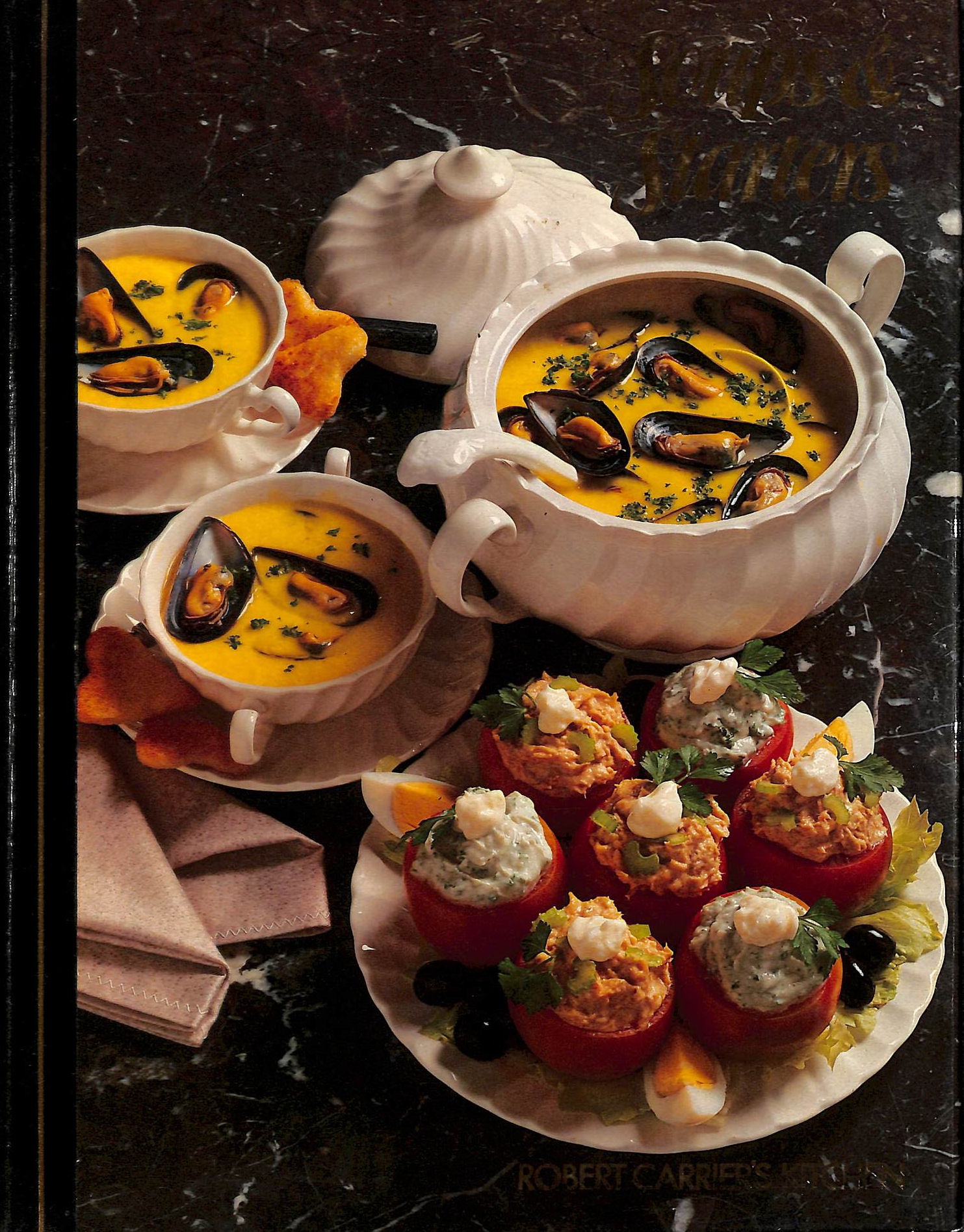 Image for Soups & starters (Robert Carrier's Kitchen)