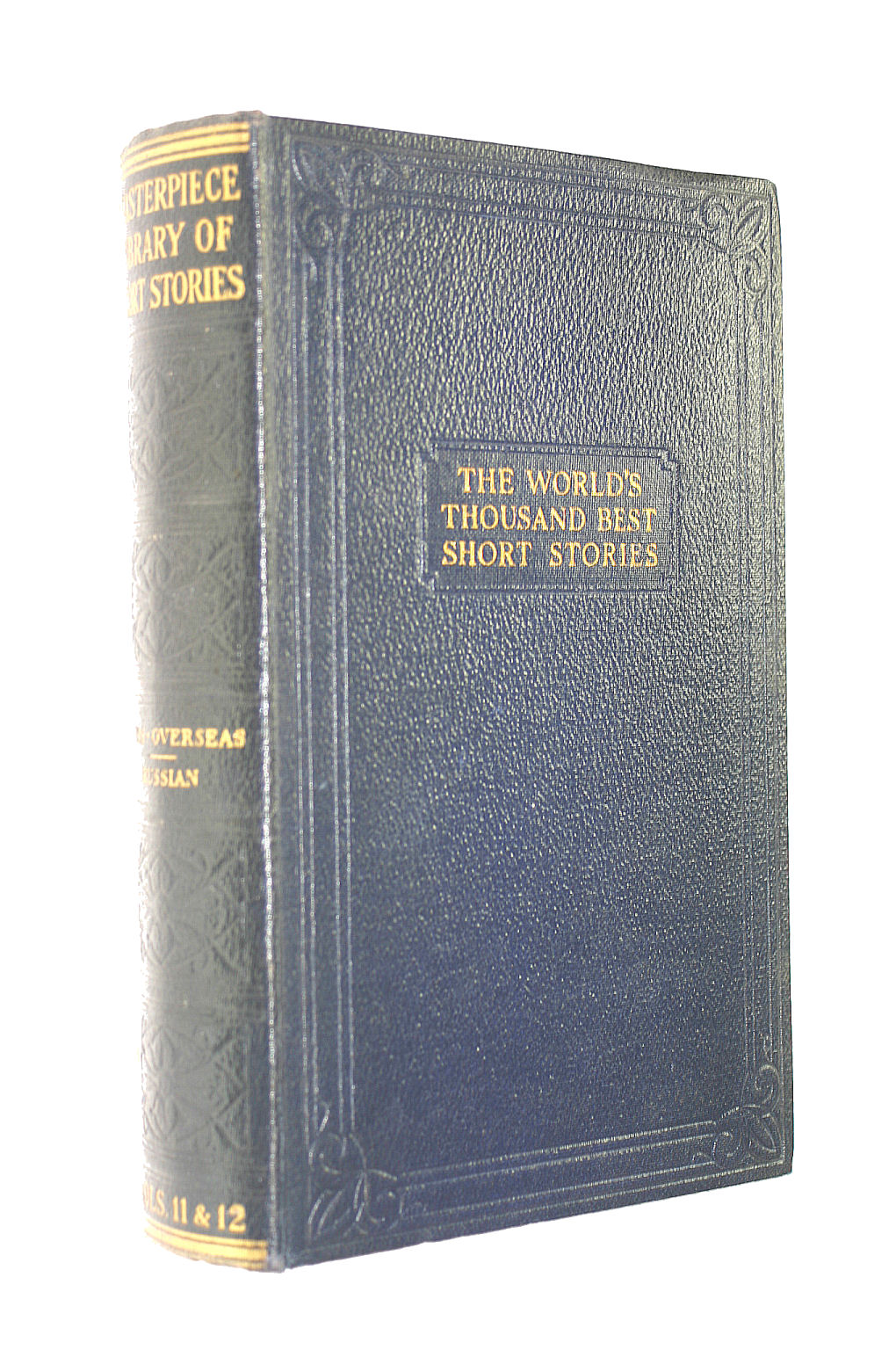 Image for The Masterpiece Library of Short Stories: The Thousand Best Complete Tales of all Times and all Countries. Vols 11 & 12: Irish, Overseas & Russian