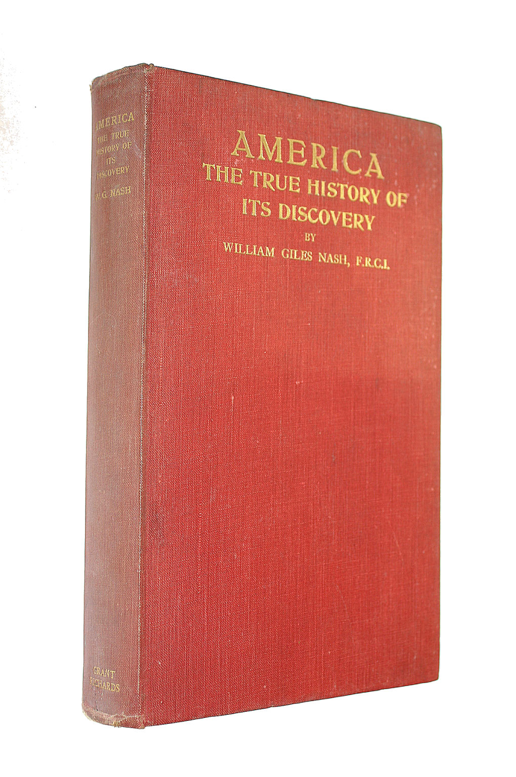 Image for America The True History Of Its Discovery