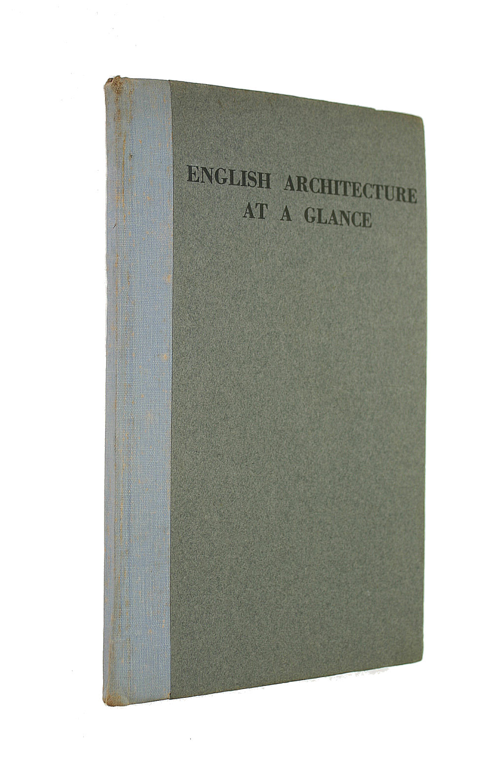 Image for English Architecture At A Glance