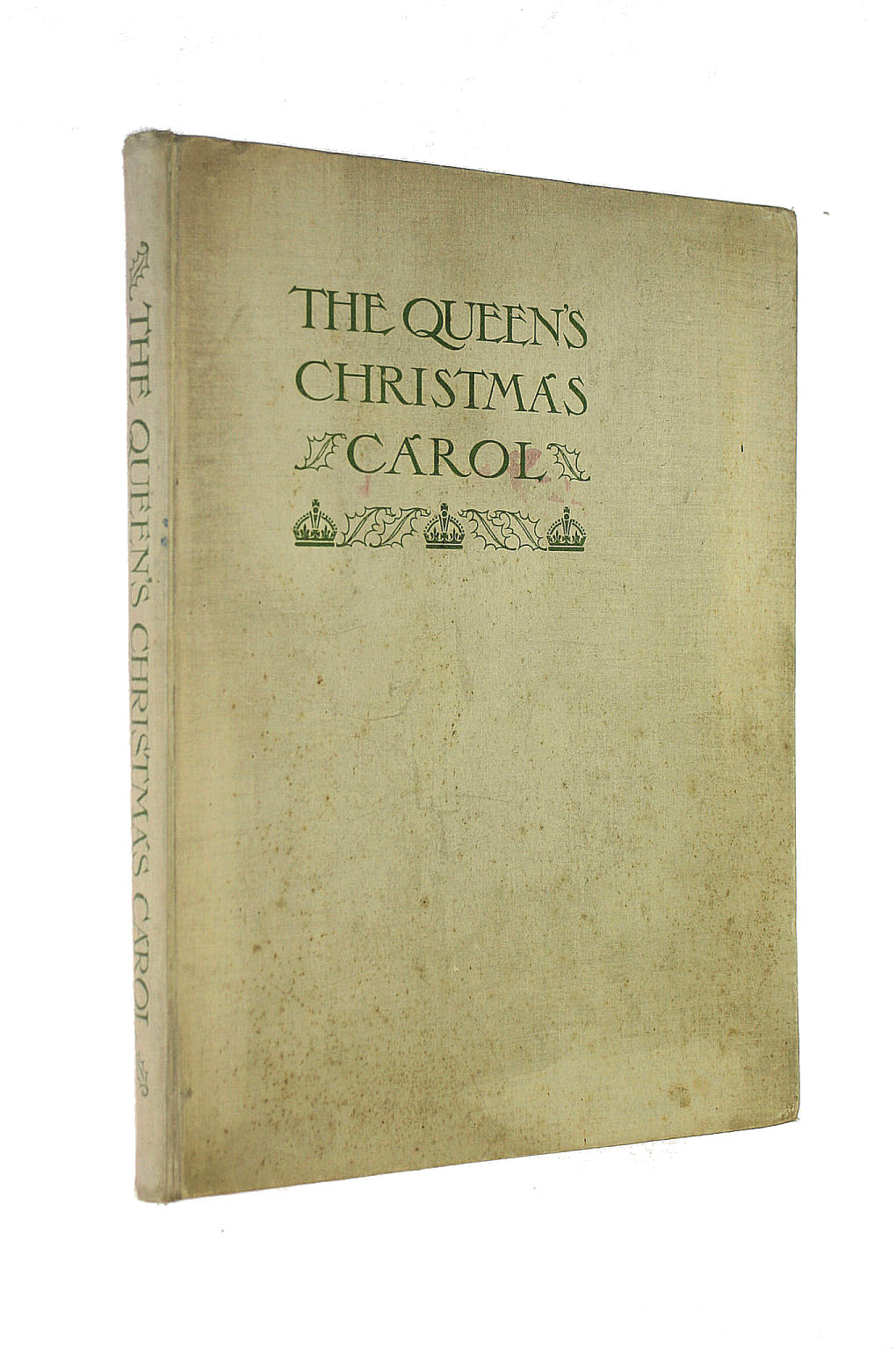 Image for The Queen'S Christmas Carol An Anthology Of Poems Stories Essays Drawings And Music By British Authors Artists And Composers