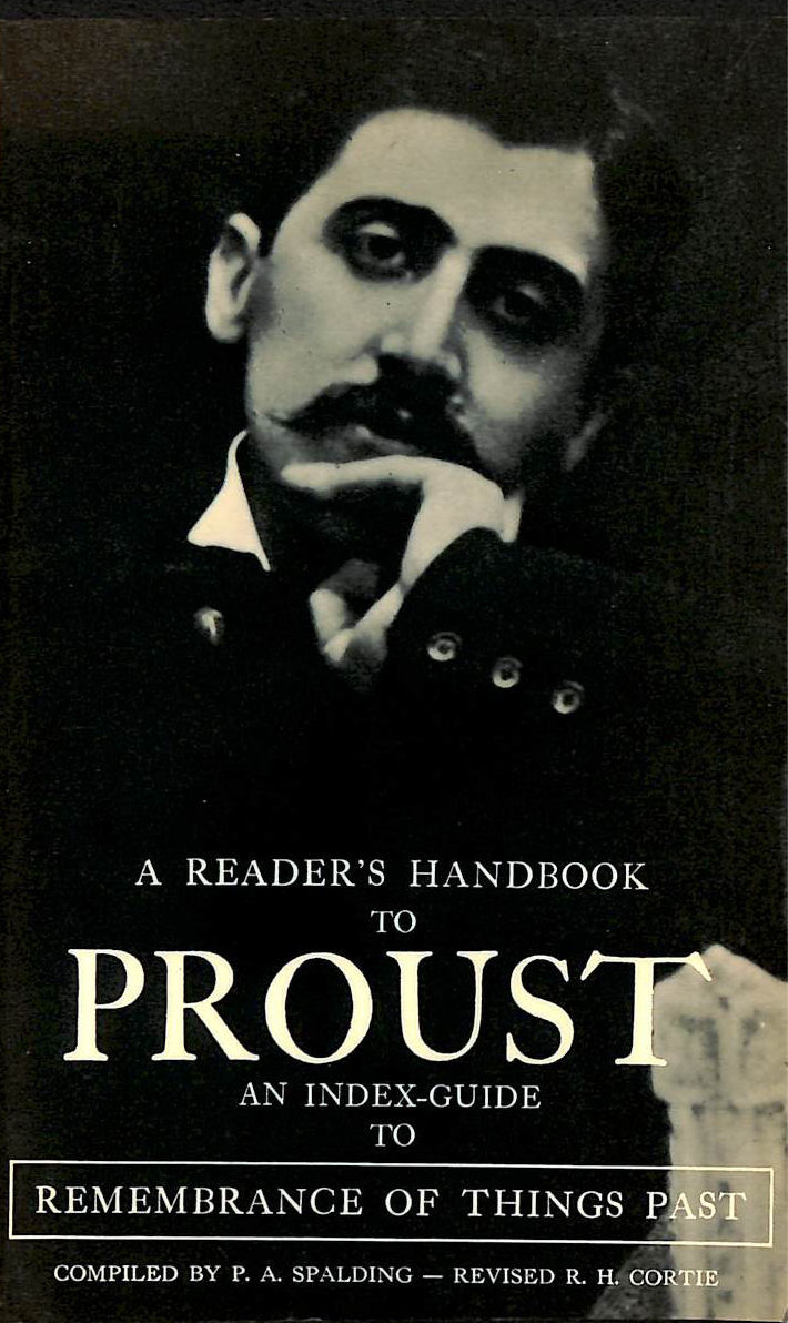 """Image for Reader's Handbook to Proust: Index-guide to """"Remembrance of Things Past"""""""