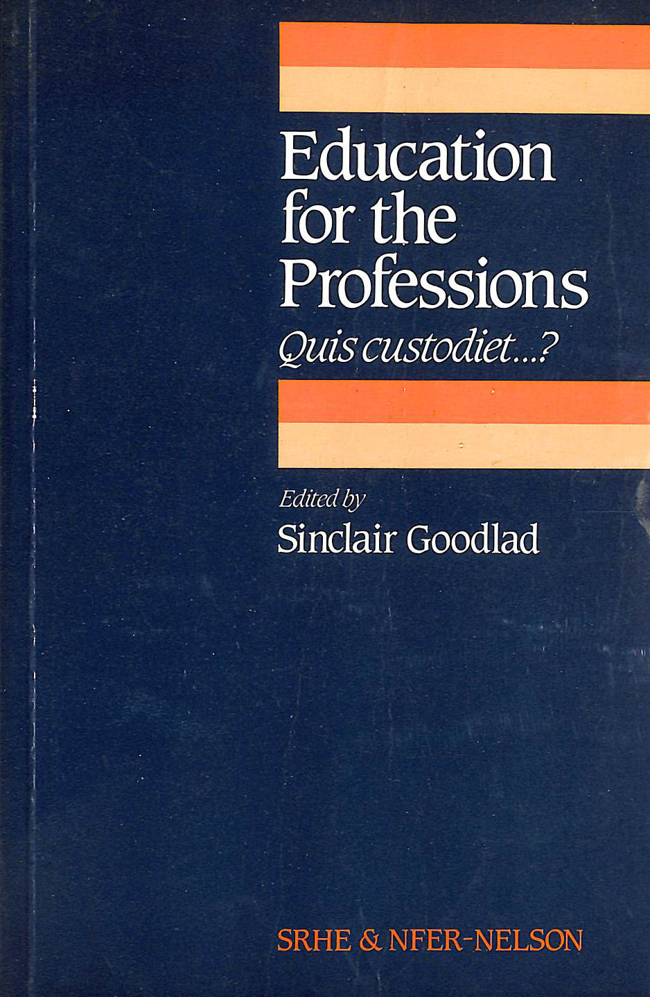 Image for Education for the Professions