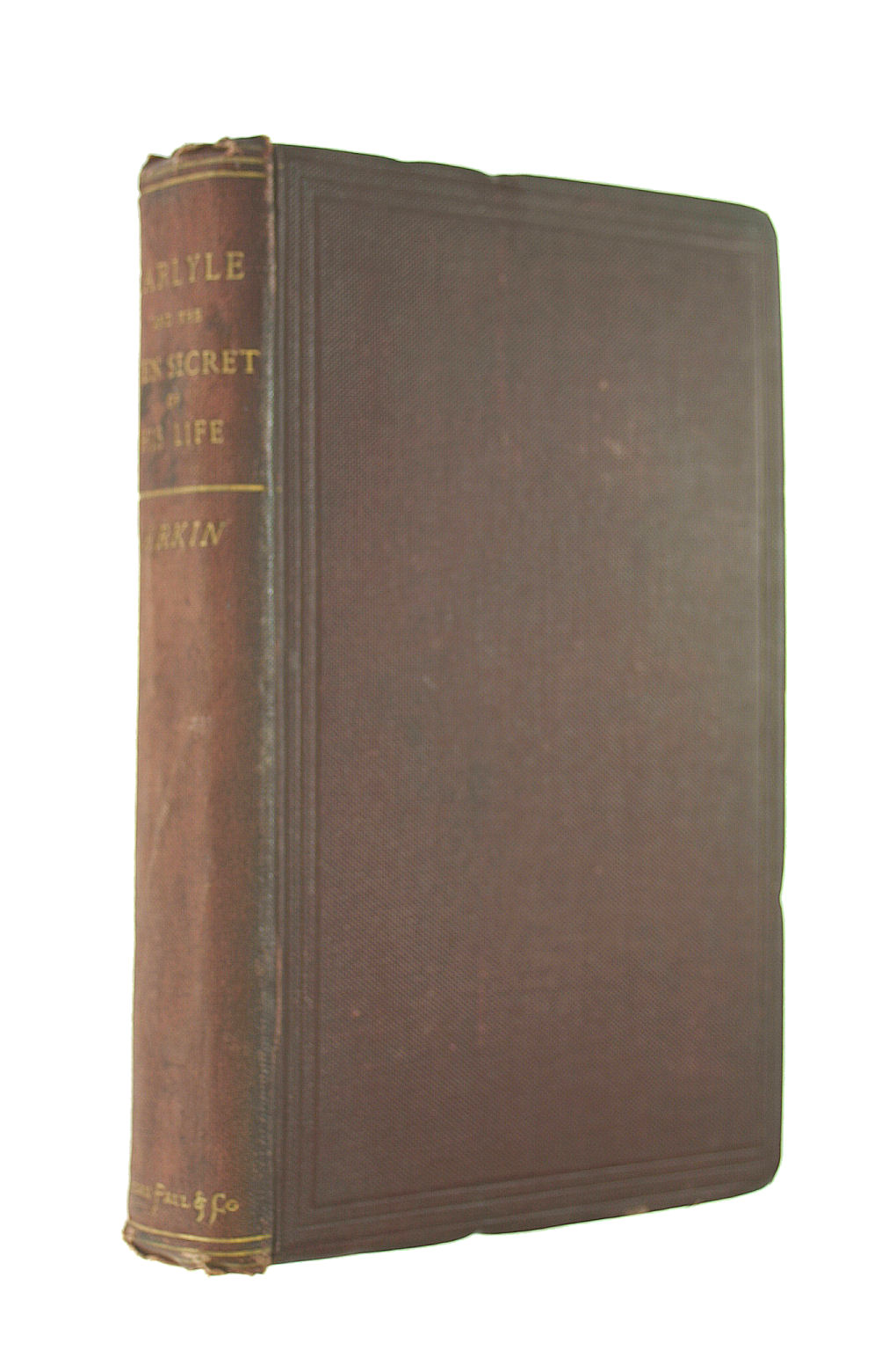 Image for Carlyle and the Open Secret of His Life