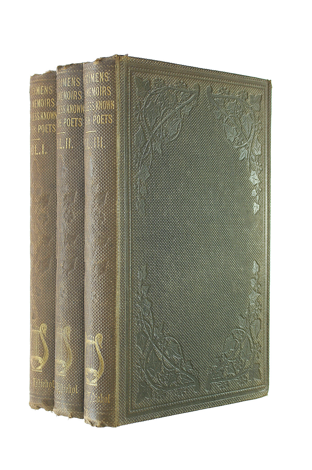 Image for Specimens with Memoirs of the Less-Known British Poets, with an Introductory Essay, in 3 Volumes
