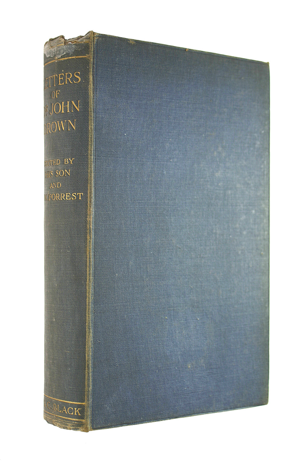 Image for Letters Of Dr. John Brown: With Letters From Ruskin, Thackeray, And Others