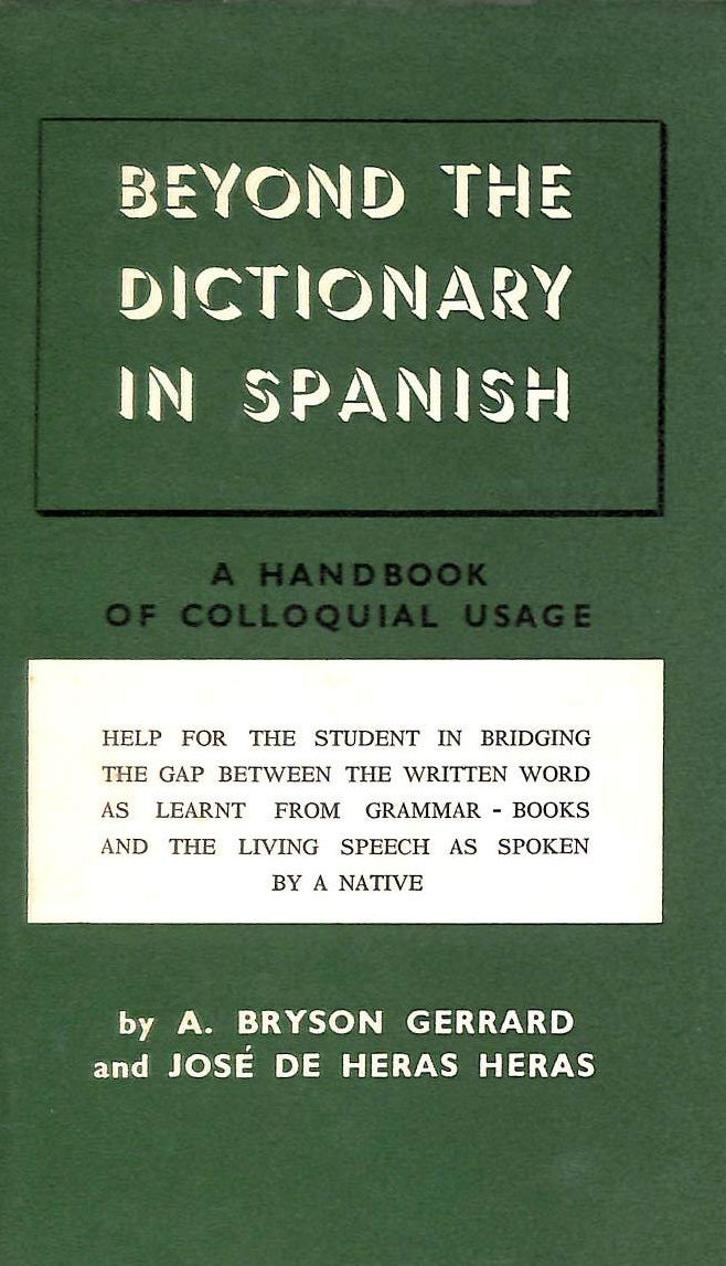Image for Cassell's Beyond the Dictionary in Spanish