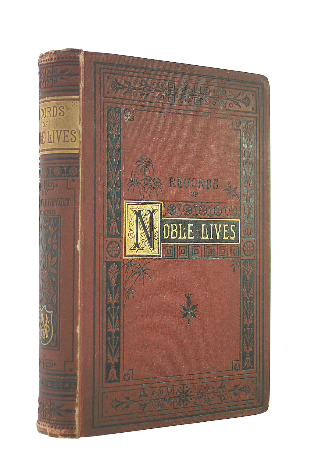 Image for Records of Noble Lives: a Book of Notable English Biographies