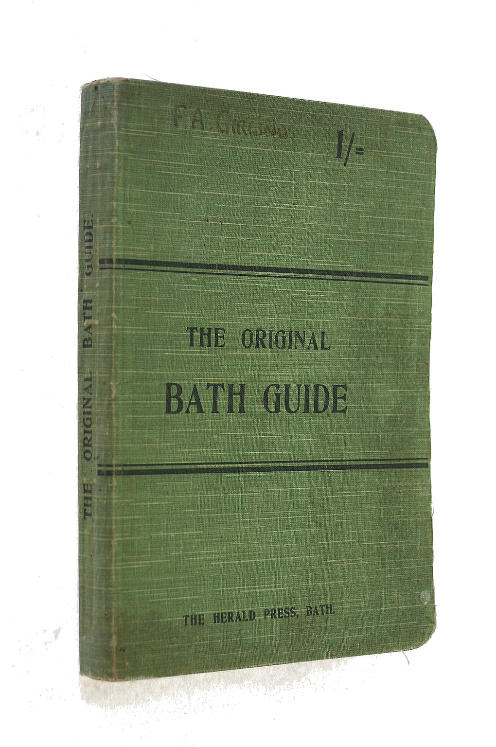 Image for The Original Bath Guide