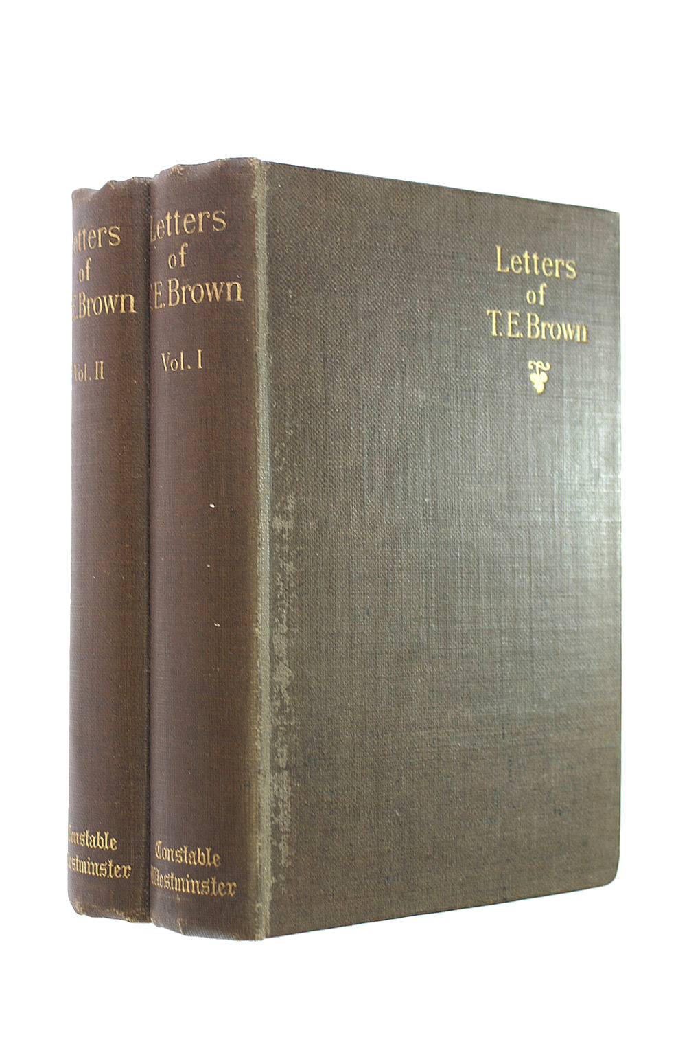 Image for Letters Of Thomas Edward Brown. Volumes 1&2