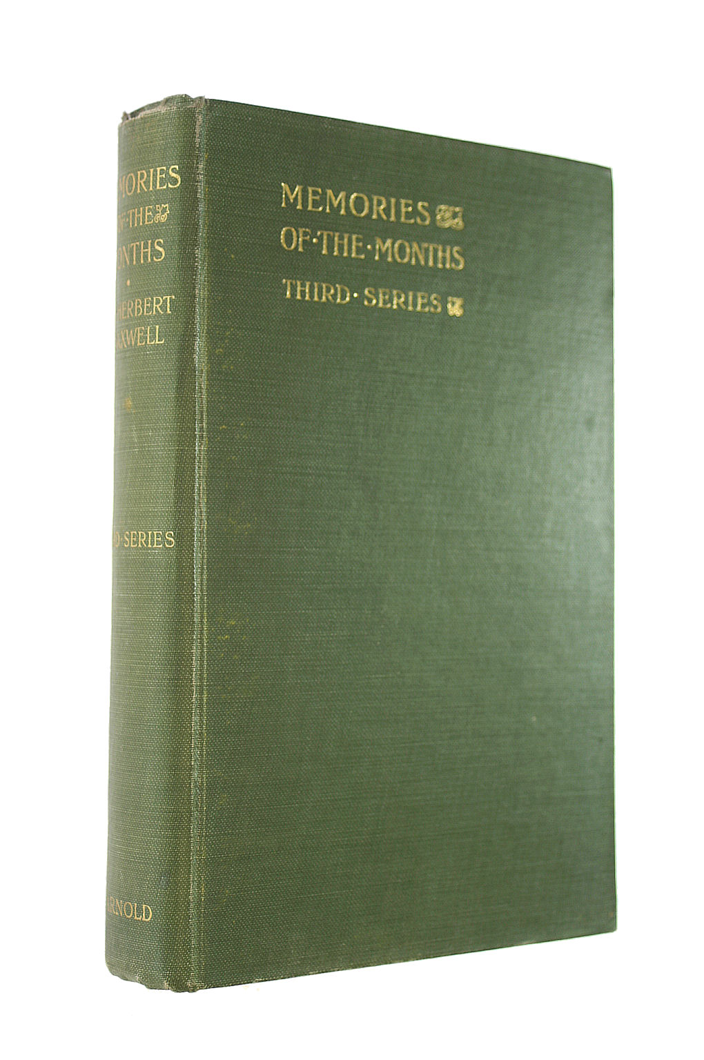 Image for Memories of the Months Third Series