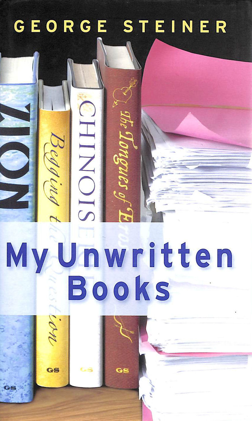 Image for My Unwritten Books