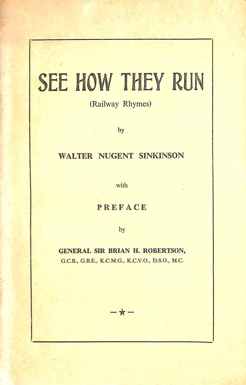 Image for See how they run (railway rhymes)