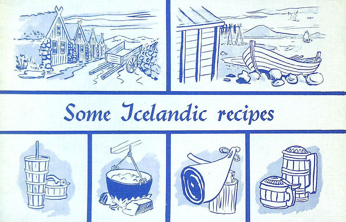Image for Some Icelandic recipes